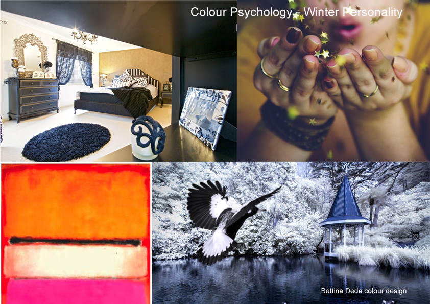 Colour Psychology Winter Personality