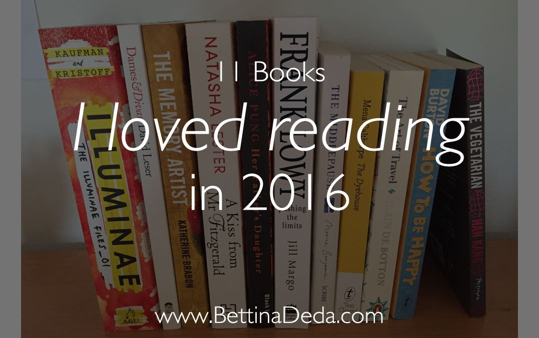 11 Books I loved Reading in 2016