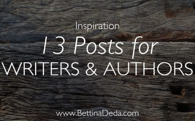 My Top 13 Posts for Writers and Authors in 2016