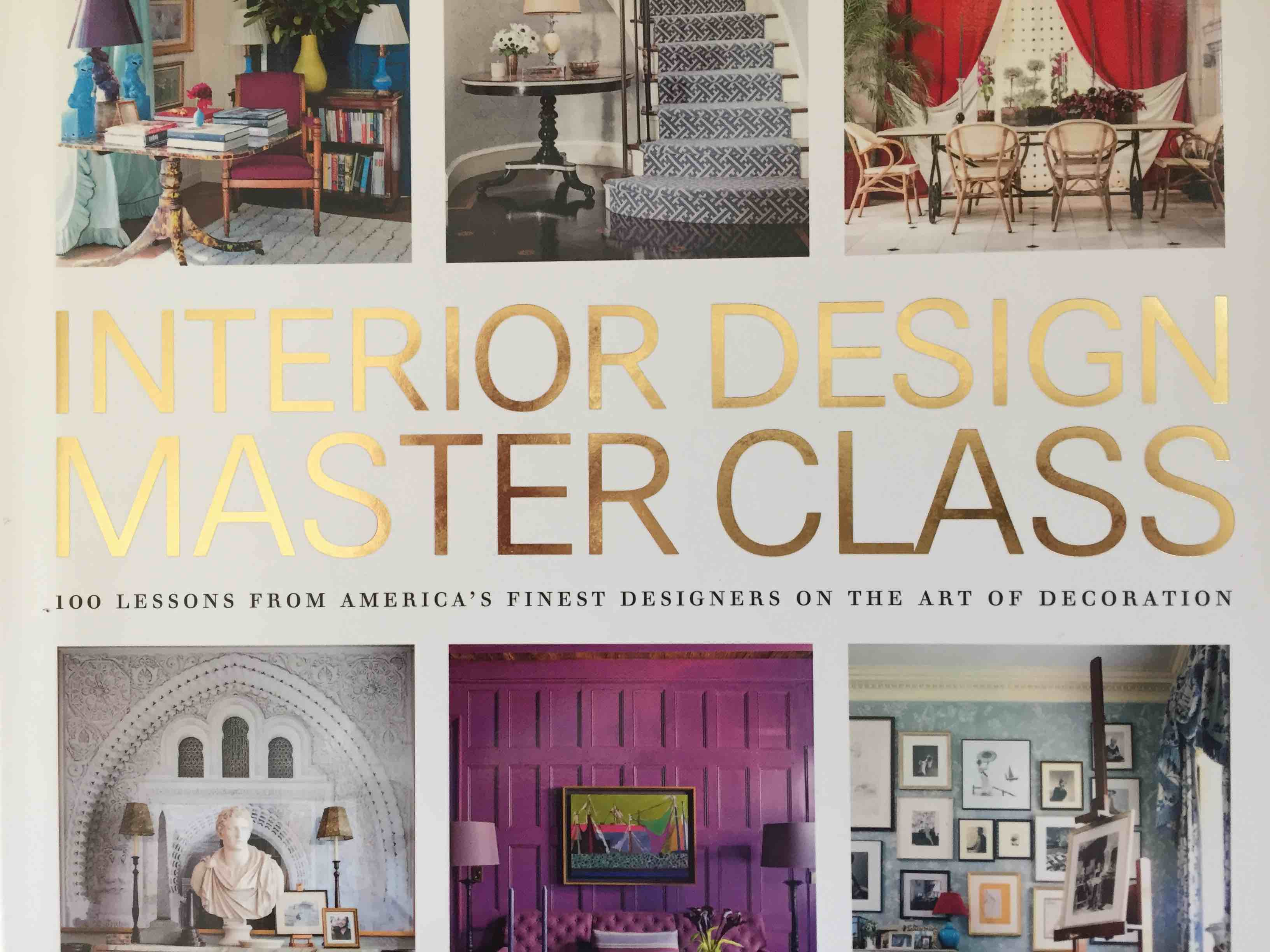 Book Tip Interior Design Masterclass Bettina Deda