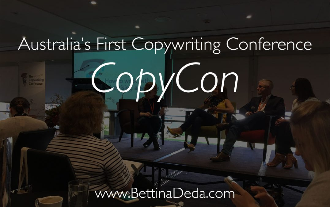 Content Is King At Australias First Copywriting Conference