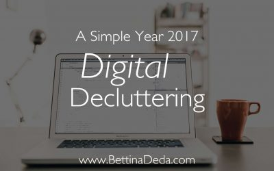 A Simple Year: Digital Decluttering