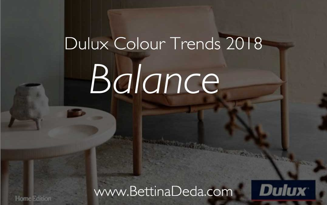 Dulux Colour Trends 2018: Tell Your Story