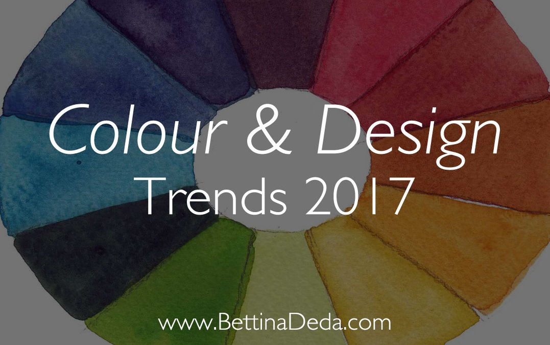 Colour and Design Trends 2017 at a Glance