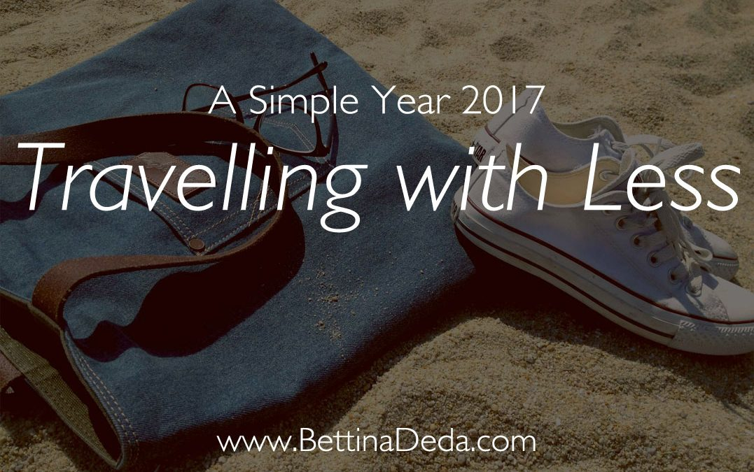 A Simple Year: Travelling with Less