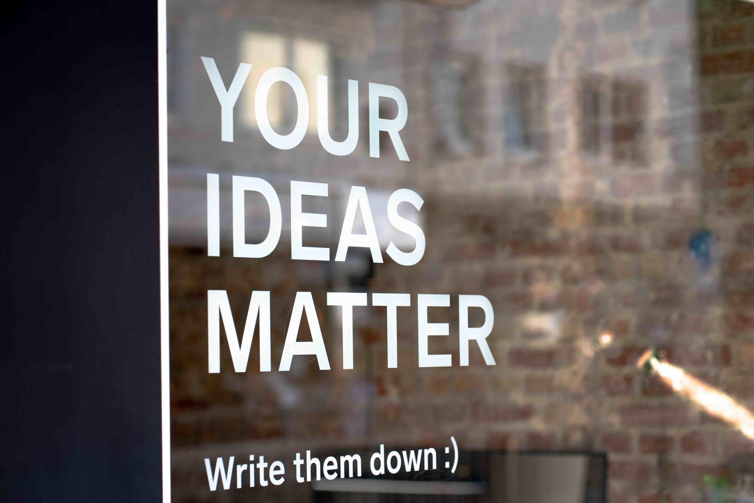 Content marketing workshops, creativity, storytelling