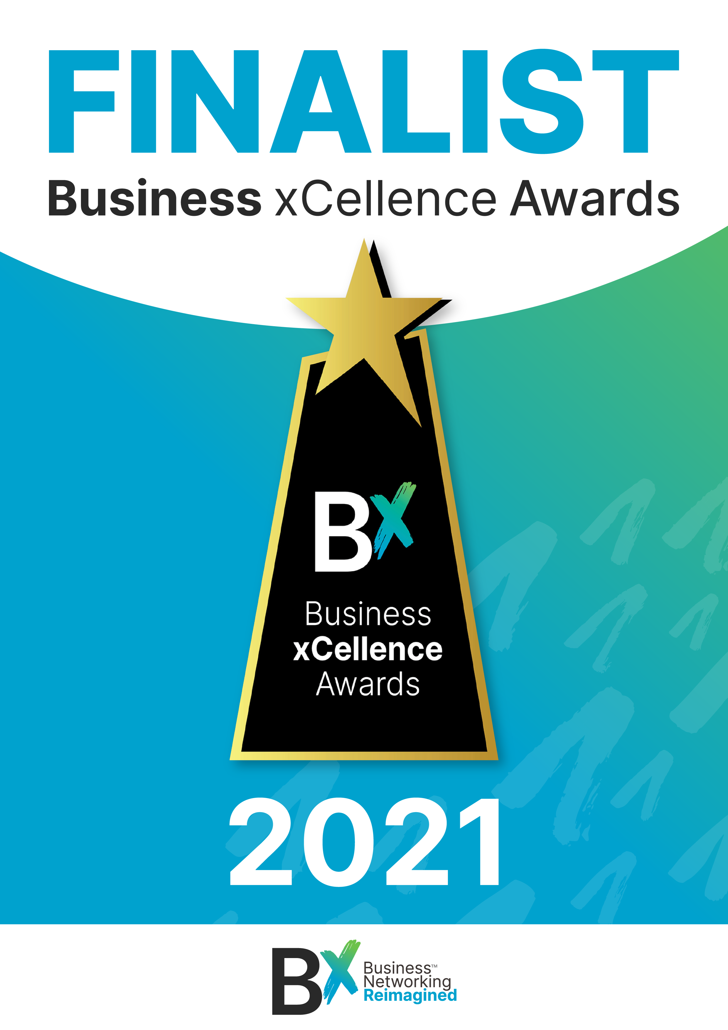 Bettina Deda Writer is a finalist in the BX Business Xcellence Awards 2021